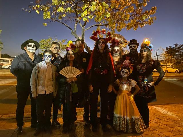 Familia Mejia_Día de muertos